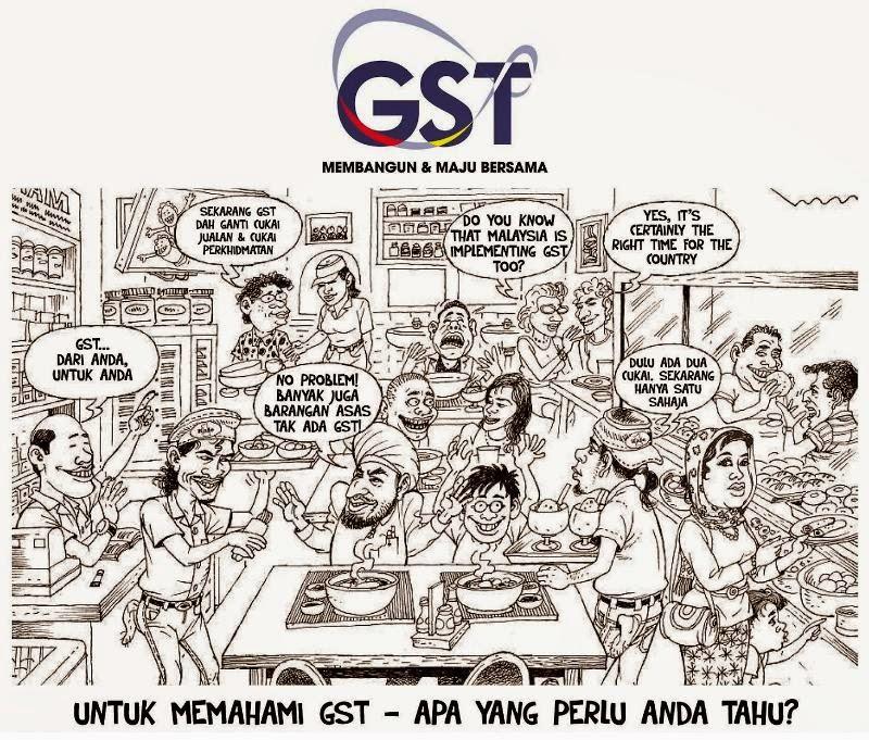 Membeli belah menjadi lebih menyakitkan dengan GST