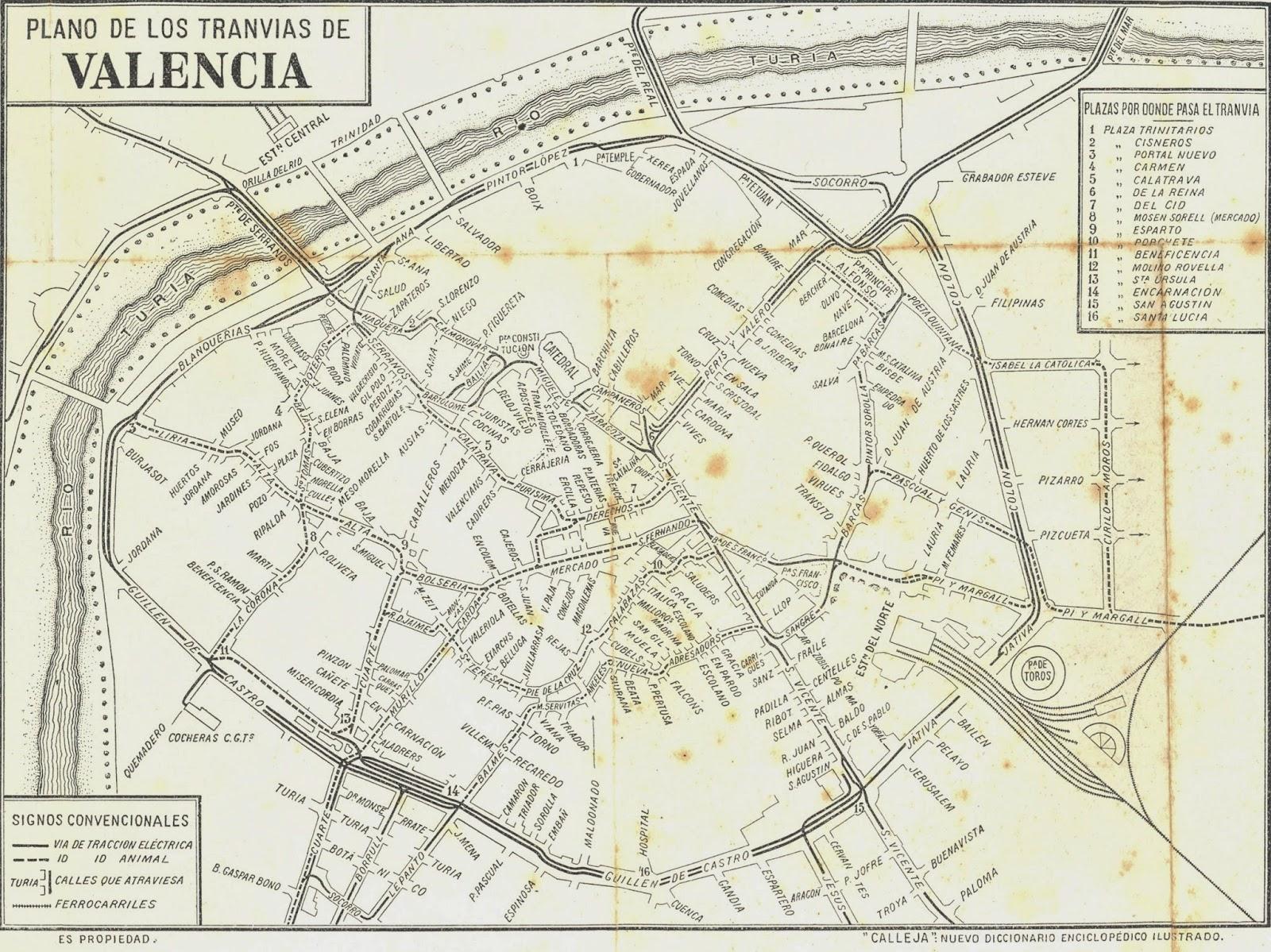 Circuito Urbano Valencia : Historias del tren los tranvÍas de valencia del motor de sangre