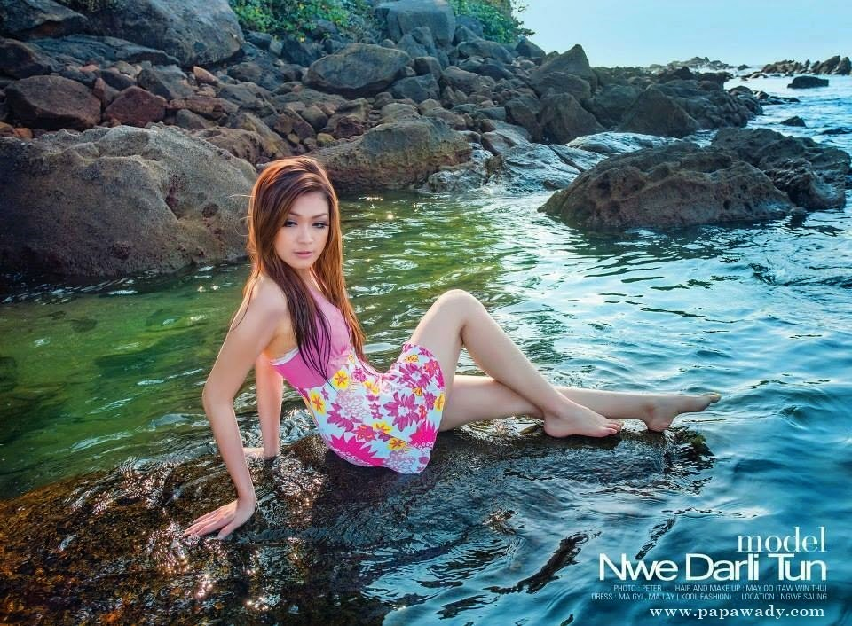 Nwe Darli Tun -The Beach and The Beauty Collection Album (2)
