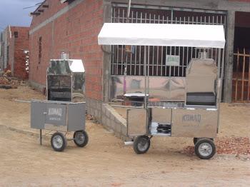 fabricamos carros para lanches, maquinas para farinha de mandioca, fachadas comerciais , portões ..