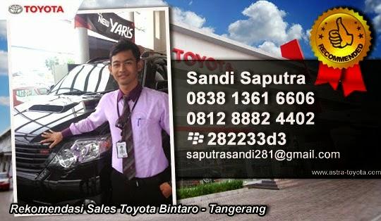 Toyota Bintaro Tangerang | Ferdy