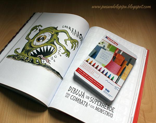 sorteo libro y caja de rotuladores por cumpleblog pasandolopipa.blogspot.com