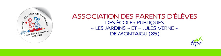 Association des parents d'élèves des écoles publiques de MONTAIGU ( FCPE )
