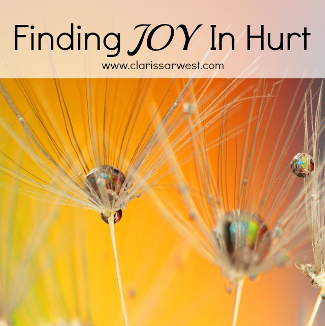 I have experienced death and disease and yet I still have JOY...