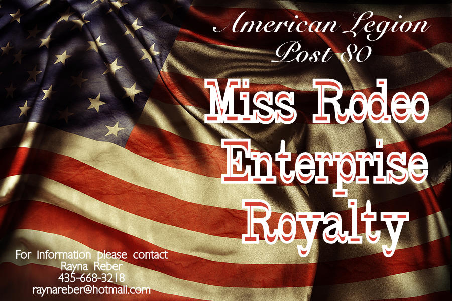 2014 American Legion Miss Rodeo Enterprise Royalty