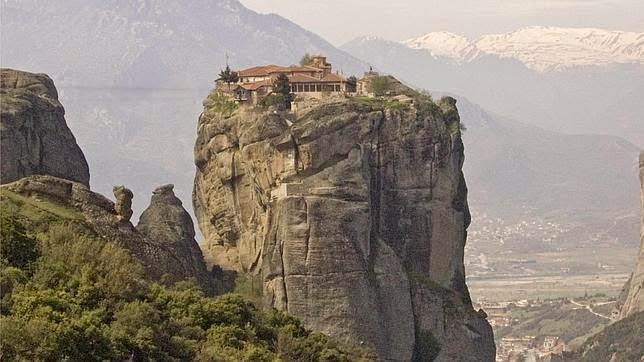 El monasterio Rossanou