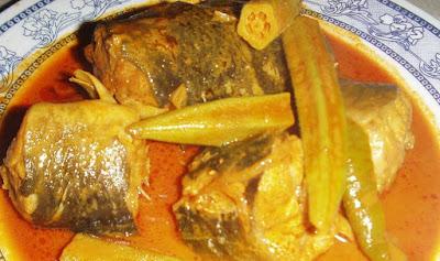 Bahan Masak Kari Ikan Keli