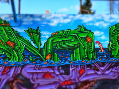Game Not Fame, Artic Sea Mural