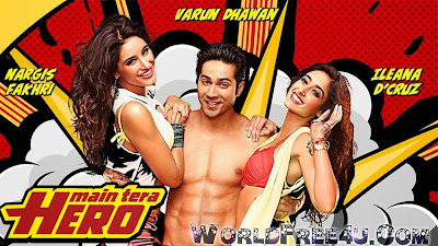 Cover Of Main Tera Hero (2014) Hindi Movie Mp3 Songs Free Download Listen Online At worldfree4u.com