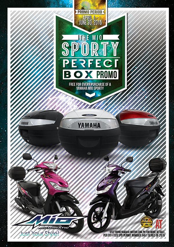 The Mio Sporty Perfect Box Promo