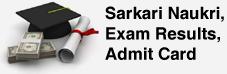 Sarkari Naukri, Results, Admit Card