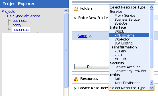 Import WSDL and schema