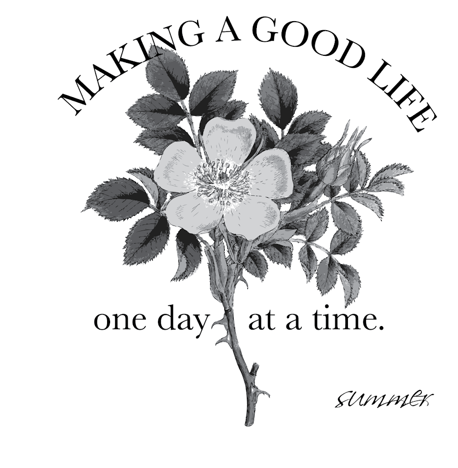 making a good life...one day at a time