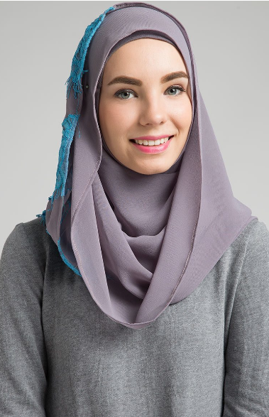 Contoh Style Hijab Modern