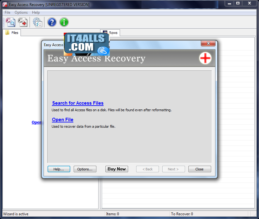 Recover and repair lost or corrupted outlook express and vista