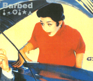 BARBED-S/T, CD, 1994, UK