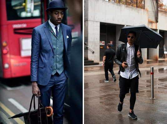 men's style tips - the umbrella