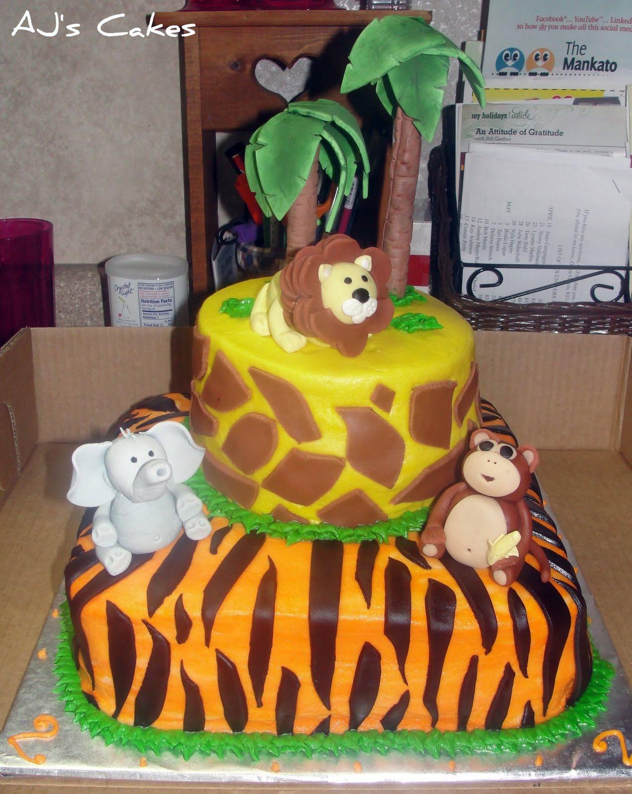 Aj S Cakes Cole S Safari Cake