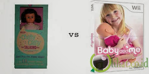 Boneka Bayi Bisa Bicara vs Game Baby and Me