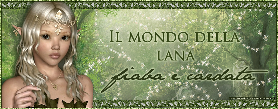 Il mondo della lana fiaba e cardata the world of fairy and carded wool