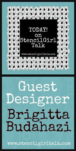 I create for StencilGirl Talk