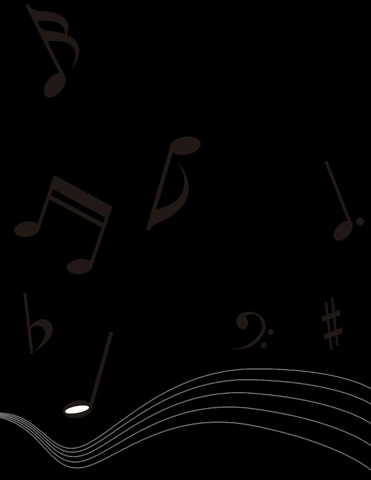 cosas en png notas musicales