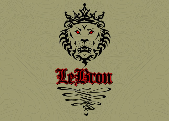 Lion logo design lebron - photo#9