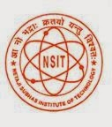 NSIT Recruitment 2014-15 www.nsit.ac.in