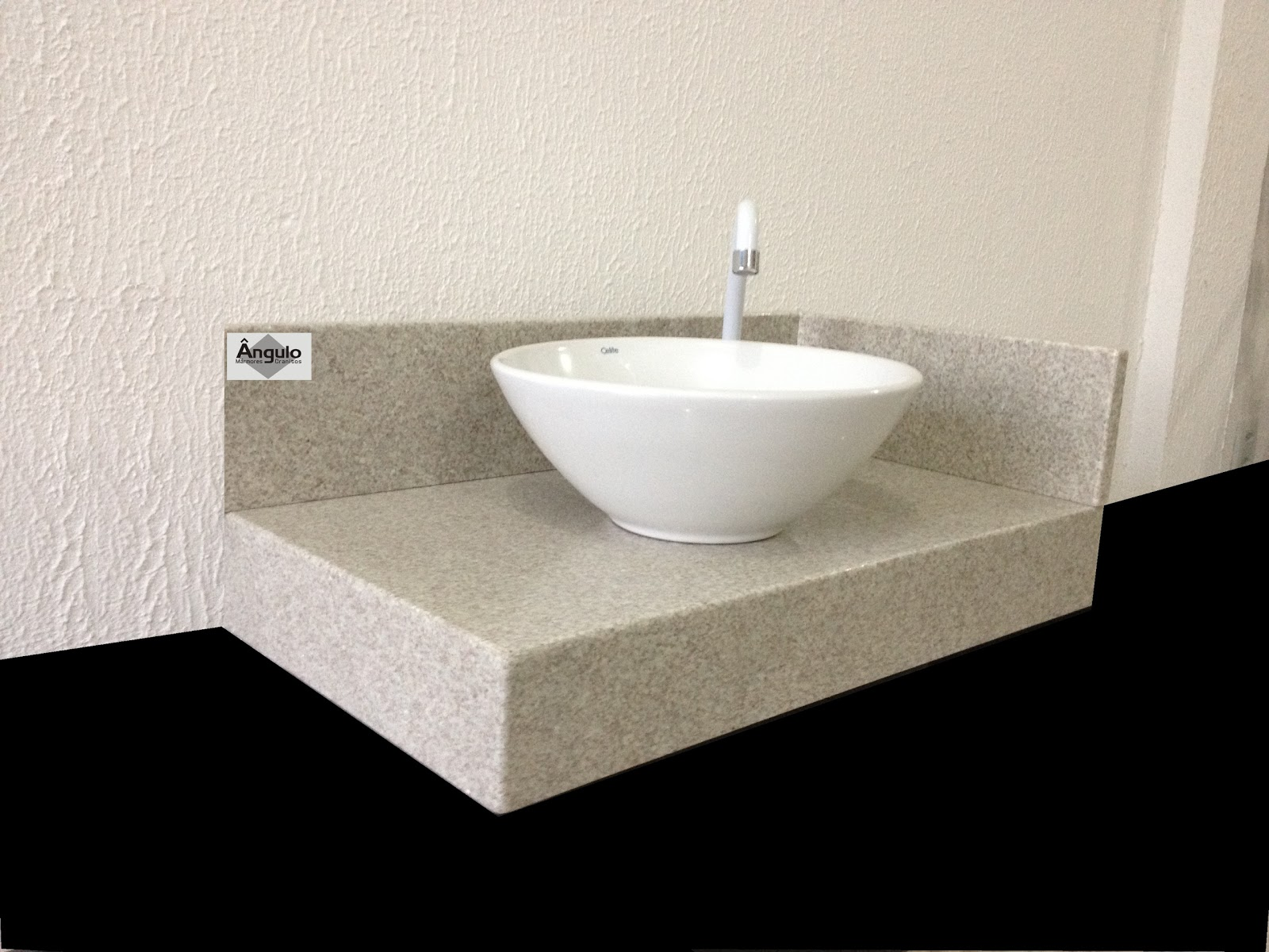 Mármores e Granitos: Bancada de Banheiro Granito Branco Siena #000000 1600x1200 Bancada De Banheiro Em Granito