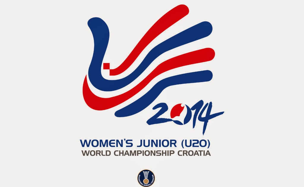 Logo del Mundial Junior Femenino 2014 de Croacia | Multimedia - Mundo Handball