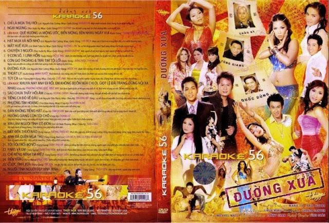 PBN Karaoke 56: Đường Xưa (DVD9)