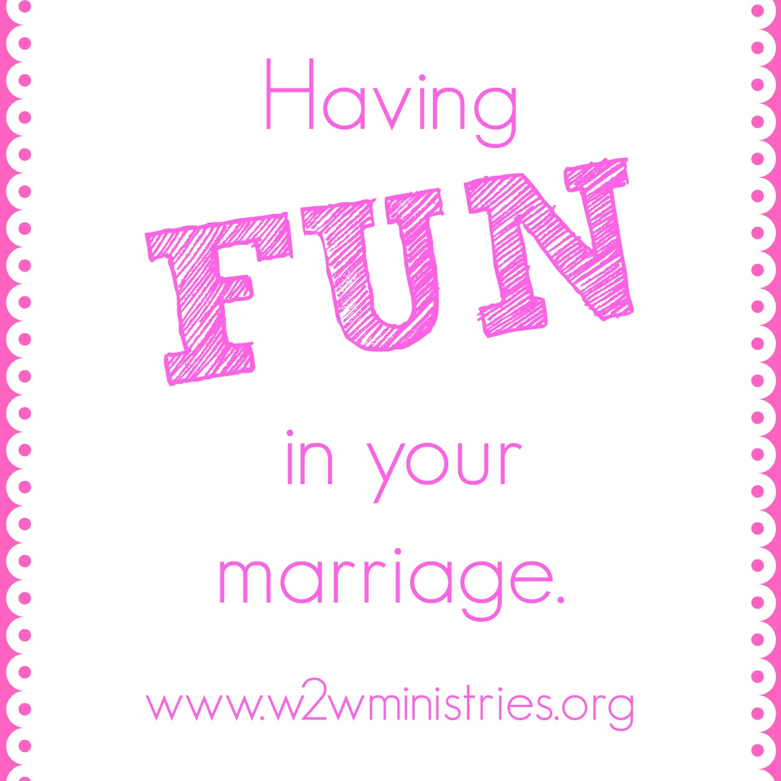 Having #fun in your #marriage
