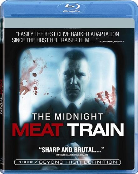 The Midnight Meat Train (El vagón de la muerte) (2008) 720p y 1080p BDRip mkv Dual Audio AC3 5.1 ch