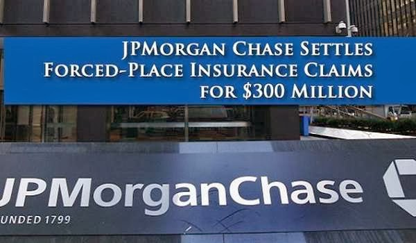 JPMorgan Force-Placed Insurance Settlement