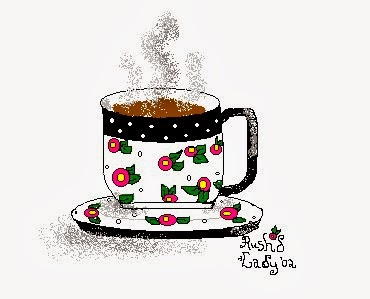 My Mouse-drawn Teacup!