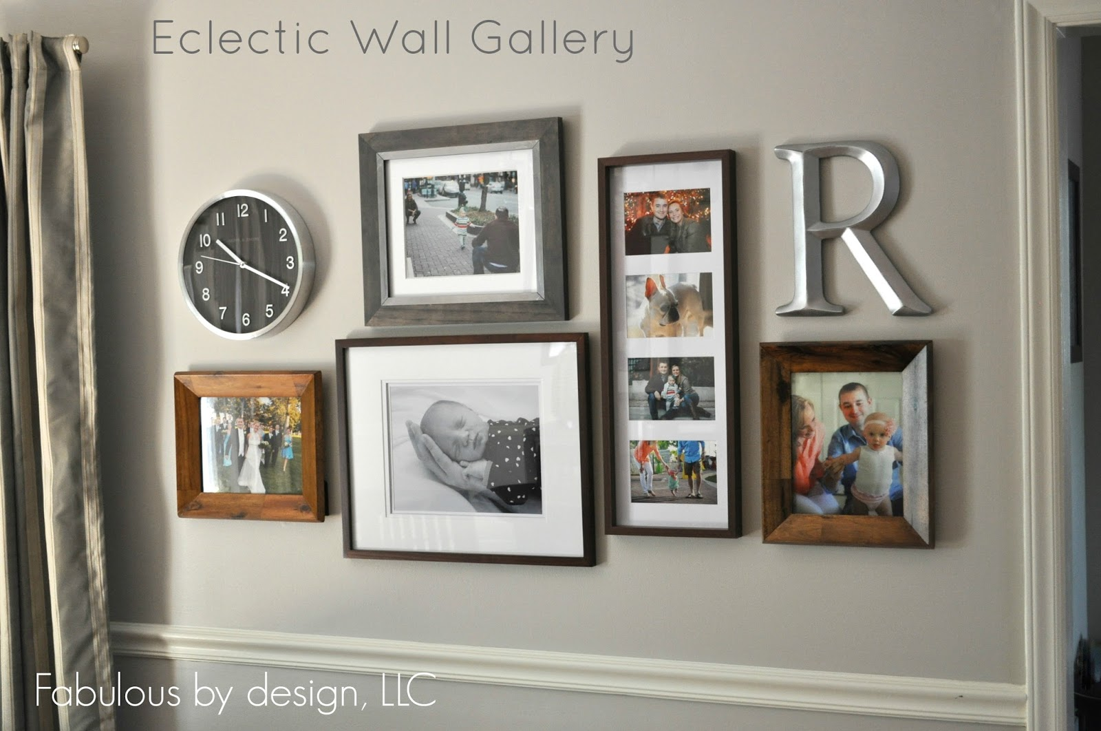 The collected interior eclectic wall gallery - Eclectic picture frame wall ...