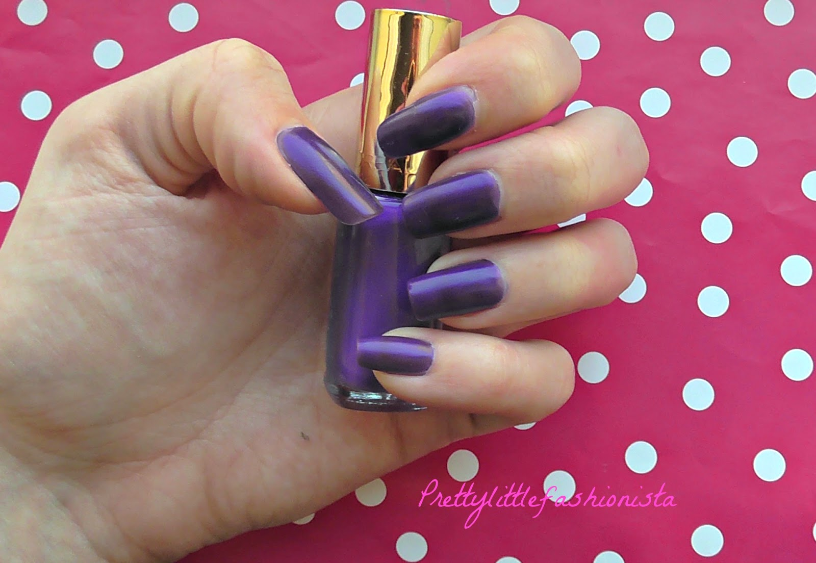 NOTD: L'Oreal Atomic Purple