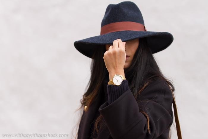 blogger de Valencia como combinar n sombrero en un look comodo