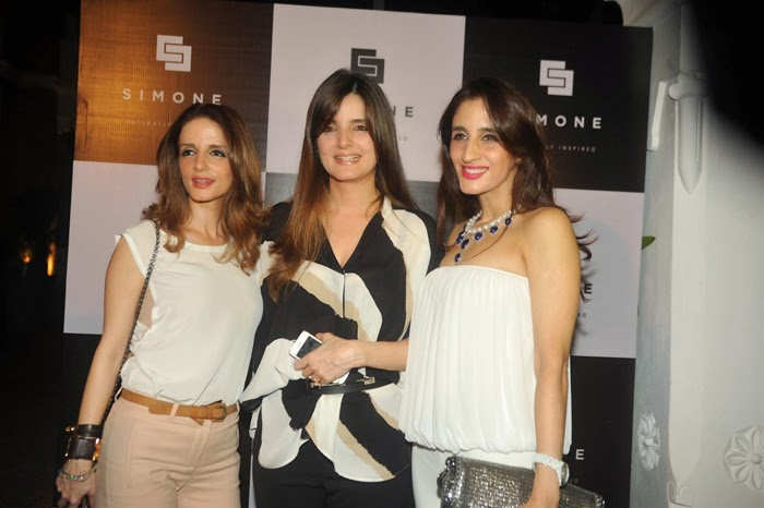 Celebrities at Simone Store Launch Event Photos