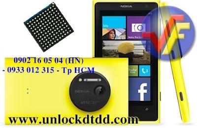Bao gia khi thay ic nguon sua loi mat nguon cua Nokia lumia 1020 tai Ha Noi