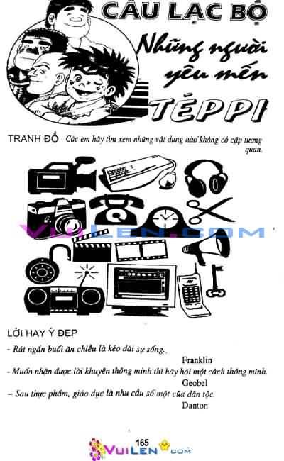 Siêu quậy Teppi chap 29 - Trang 167