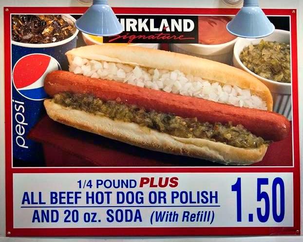 Costco Hot Dogs Carbs