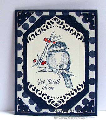 Our Daily Bread designs You Will Find Refuge, ODBD Ornate Borders Sentiments, ODBD Customer Card of the Day by Shirley Qu