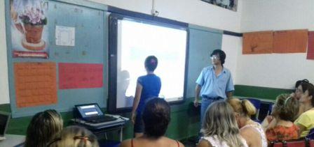 Prof. Marcos e os monitores