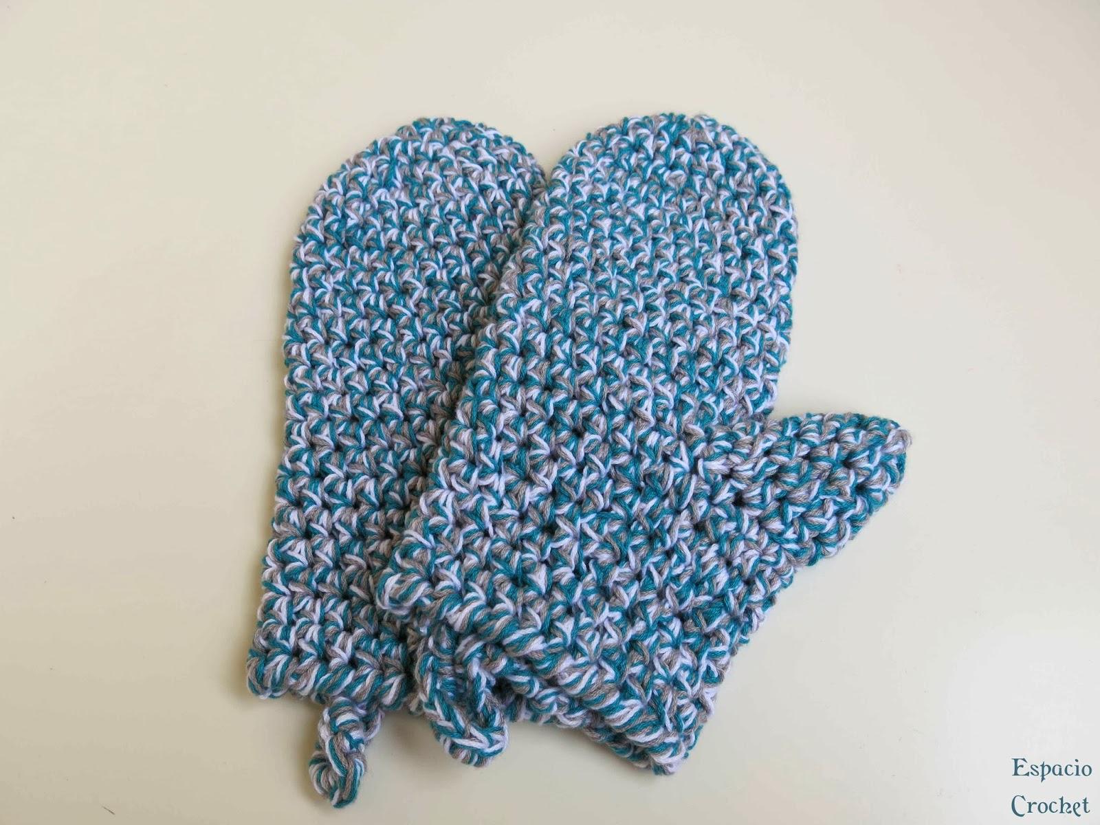 Manoplas de cocina | Espacio Crochet