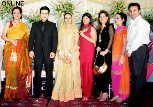 Ali Haider Wedding Pictures With her Wife
