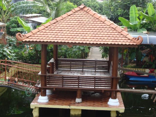 Penempatan Gazebo Taman Untuk Rumah Minimalis