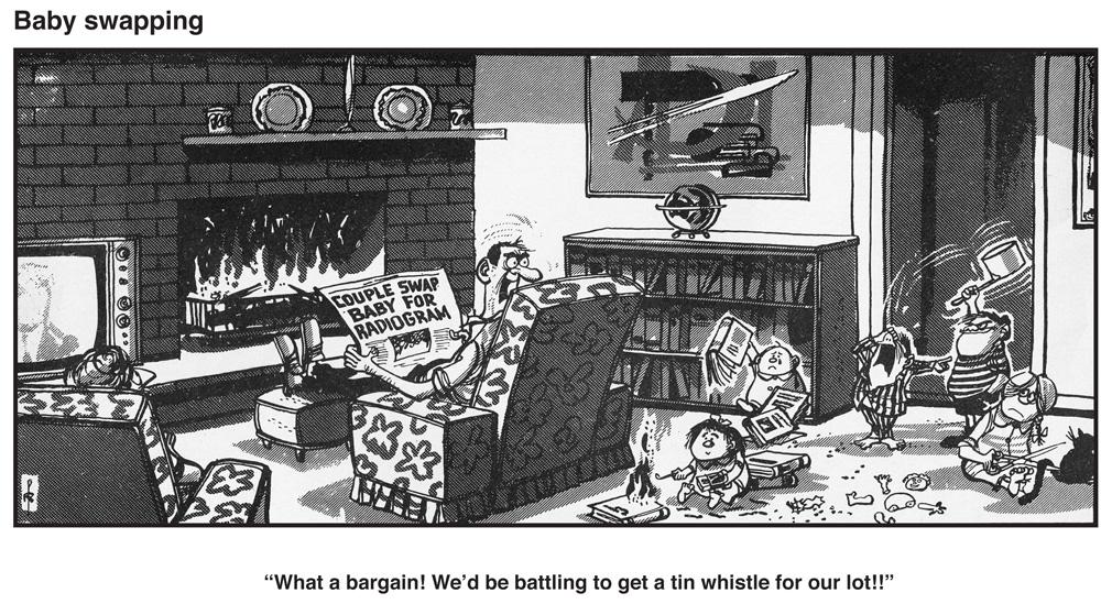 Bytes: Oz Cic Strips and Cartoons - Part 1