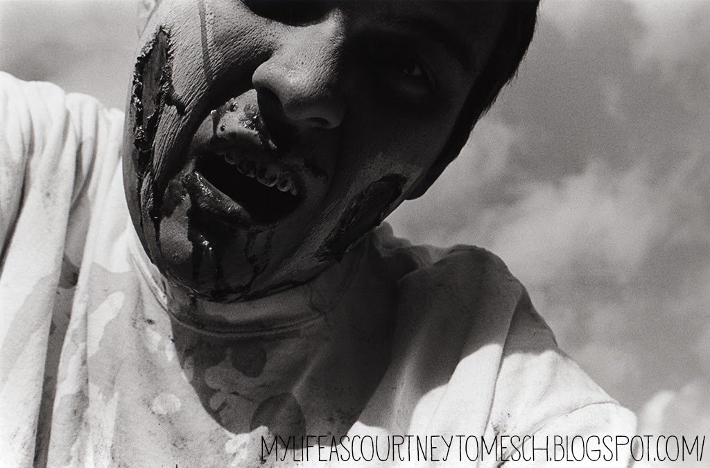 Black and White Photography Zombie