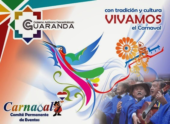 Programa completo Carnaval de Guaranda 2015